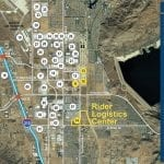 Rider Logistics Center Aerial