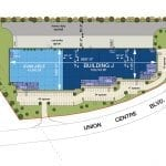 Port Union J Site Plan