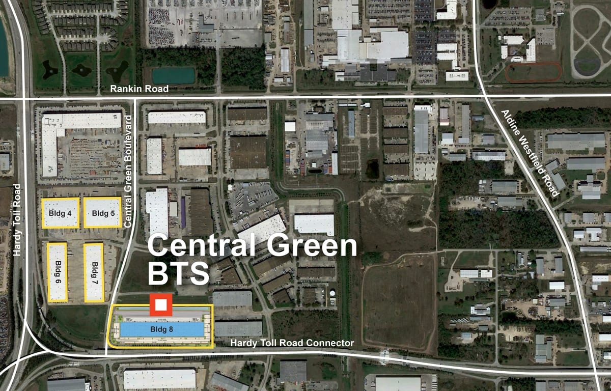 Central Green Corporate Center Aerial