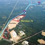 Meridian 75 Logistics Center Aerial