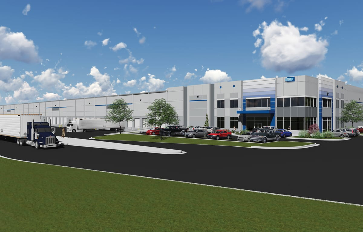 Olive Branch Logistics Center Rendering