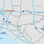 Perris Logistics Center Map