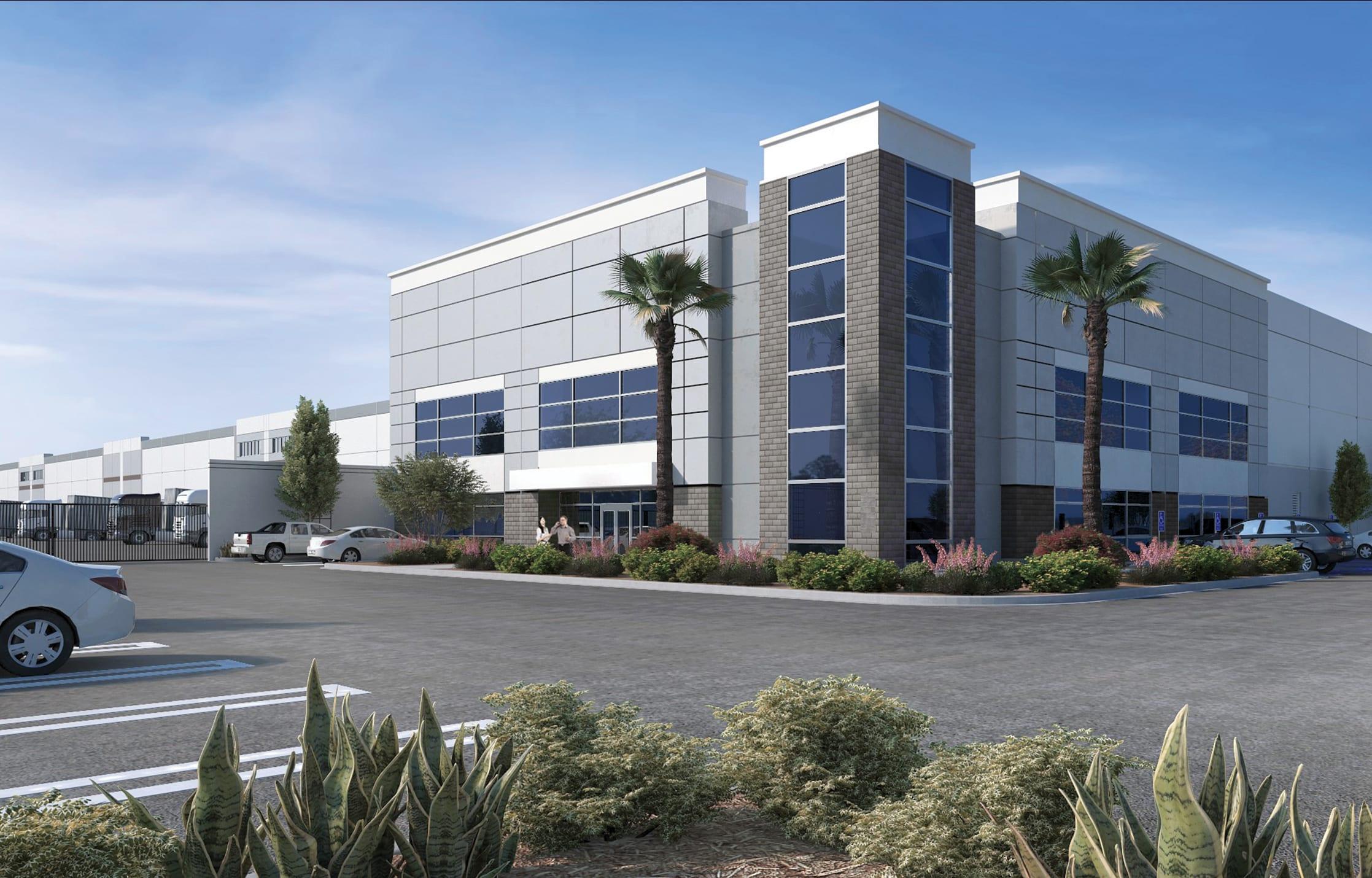 Rider Logistics Center Rendering