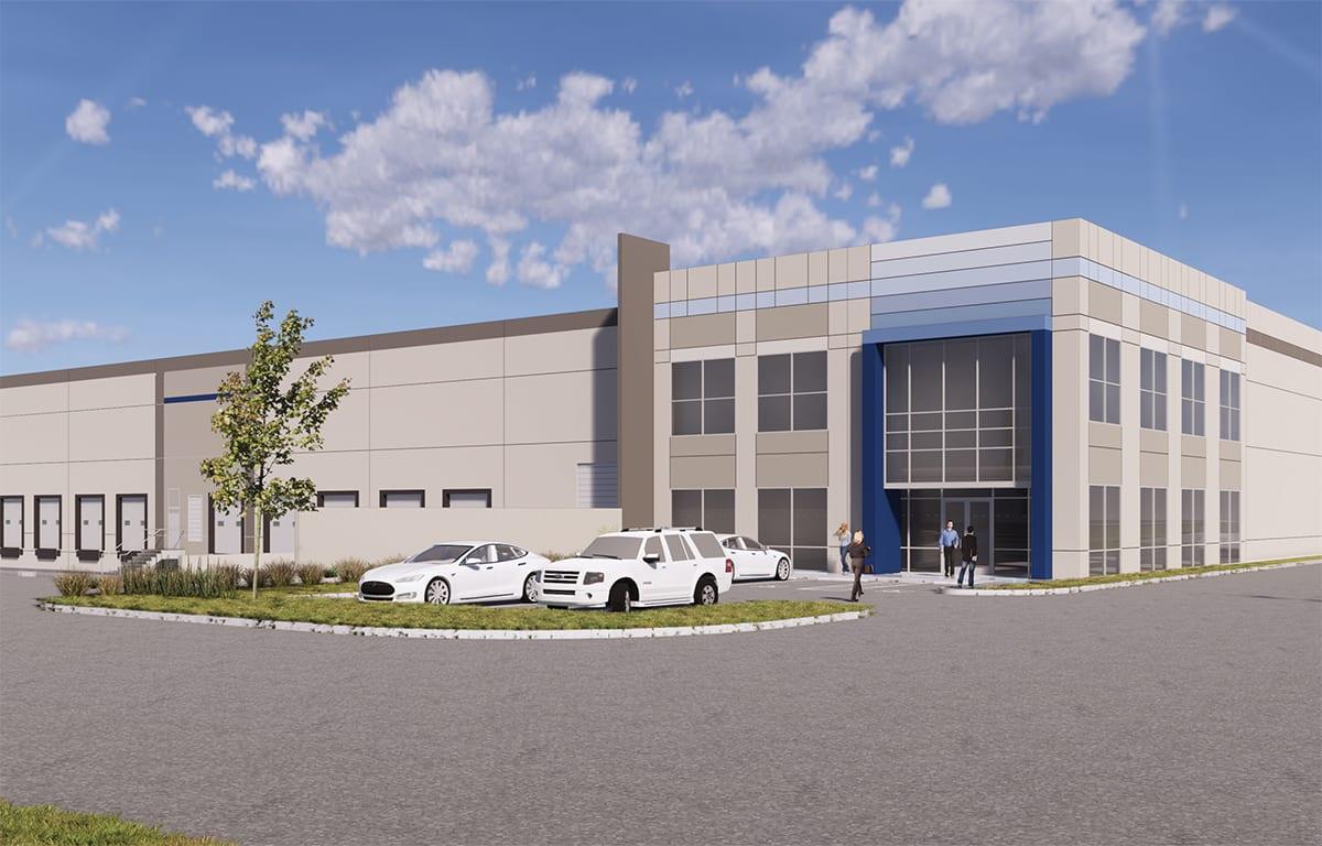 Stockton Logistics Center Rendering